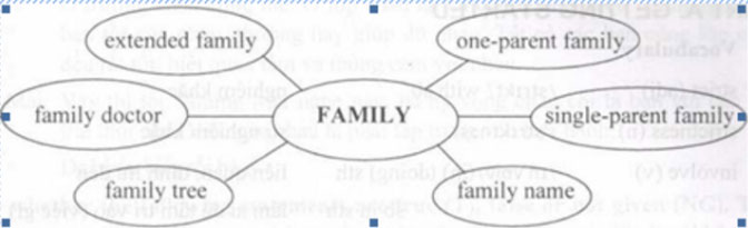 Lop-11-moi.unit-1-Looking-back.II.-VOCABULARY.2. Can you find other compound nouns with the word family. I se a dictionary if necessary