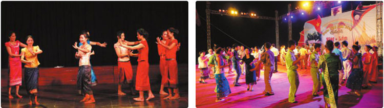 Lop-11-moi.unit-5.Communication-and-Culture.II. CULTURE.1. Look at the pictures. Do you know anything about this dance? Tell your partner