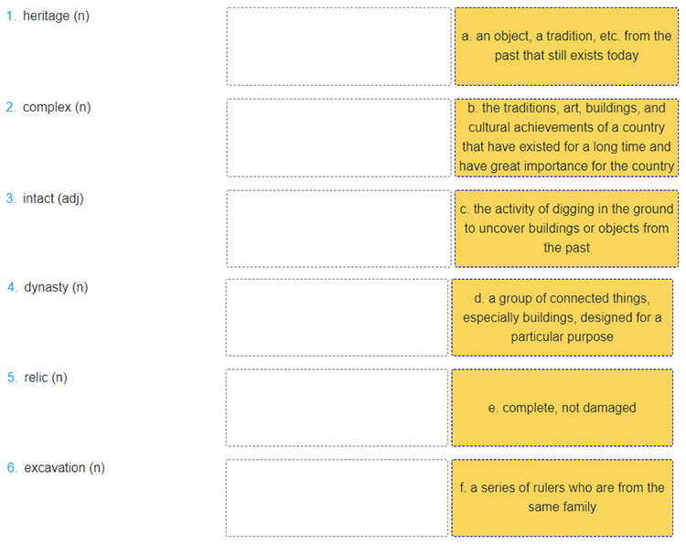 Lop-11-moi.Unit-8.Getting-Started.3. Match the words in the conversation with the appropriate definitions