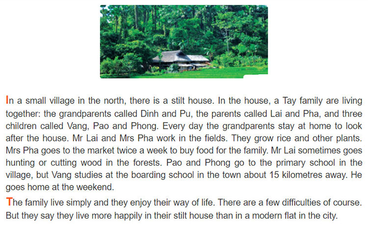 tieng-anh-lop-8-moi.unit-3.A Closer Look 2.1. Read the passage