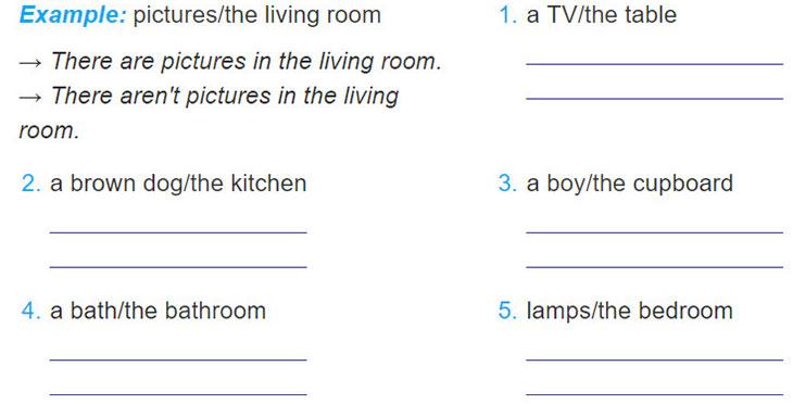 tieng-anh-lop-6-moi.Unit-2.A-Closer-Look-2.3. Write positive and negative sentences
