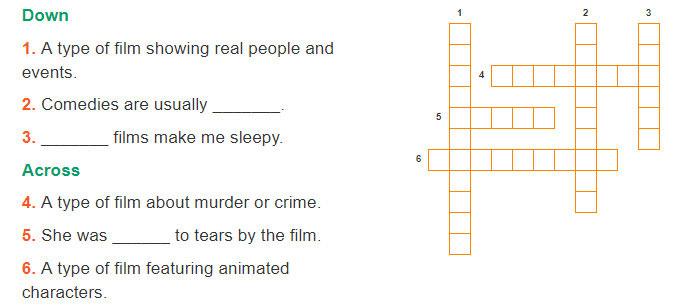 tieng-anh-lop-7-moi.Review-3.Unit-7,-8,-9.Language.5. Solve the crossword puzzle