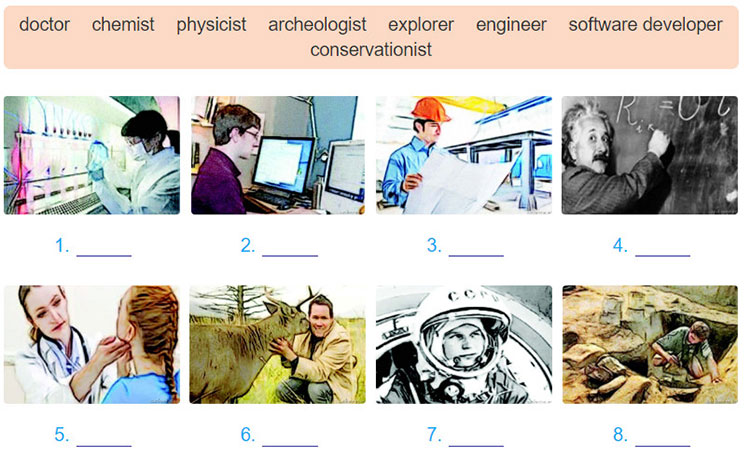 tieng-anh-lop-8-moi.unit-11.A-Closer-Look-1.2. Write a noun from the list under each picture